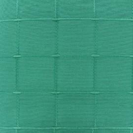 Tissu jacquard Isis (280 cm) - vert d'eau x 12cm