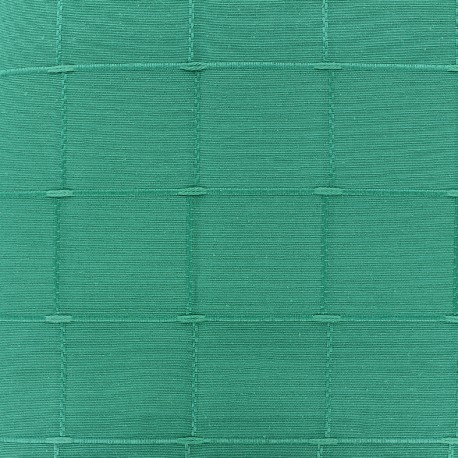 Jacquard fabric Isis (280 cm) - aqua green x 12cm