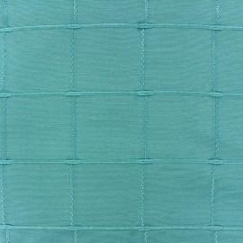 Jacquard fabric Isis (280 cm) - turquoise x 11cm