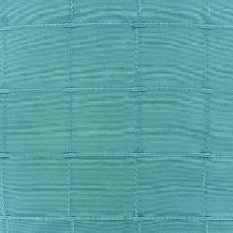 Tissu jacquard Isis (280 cm) - turquoise x 12cm