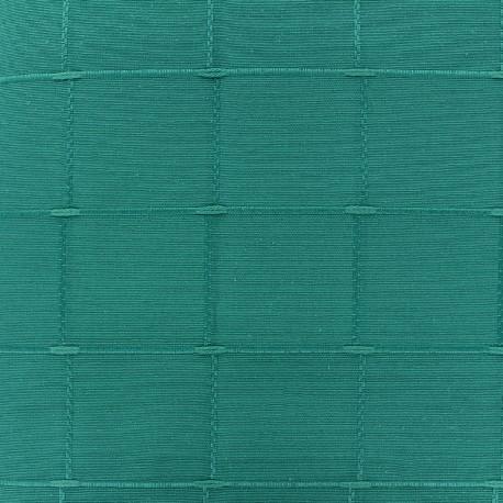 Tissu jacquard Isis (280 cm) - lagon