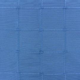Tissu jacquard Isis (280 cm) - bleu x 12cm