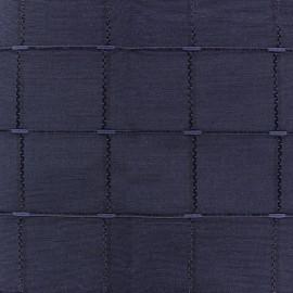 Tissu jacquard Isis (280 cm) - navy x 12cm