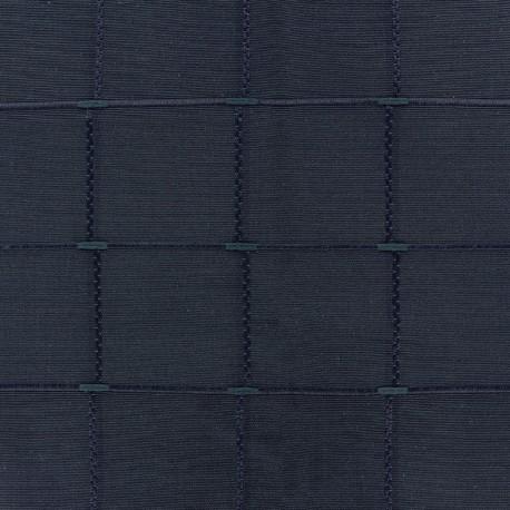 Jacquard fabric Isis (280 cm) - ink x 12cm