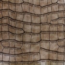 Simili cuir Gavial - crotal x 10cm