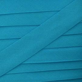 Biais Tout Textile turquoise 20 mm