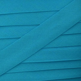 Multi-purpose-fabric Bias binding 20mm - turquoise