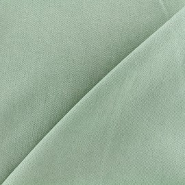 Jeans fabric 400gr/ml - pale green x 10cm