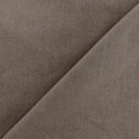 Jeans fabric 400gr/ml - light brown x 10cm