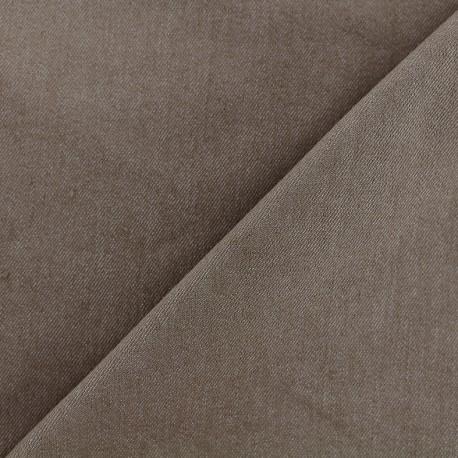 Jeans fabric 400gr/ml - light brown x 10cm