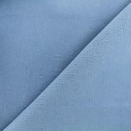Tissu jeans 400gr/ml - bleu ciel x 10cm