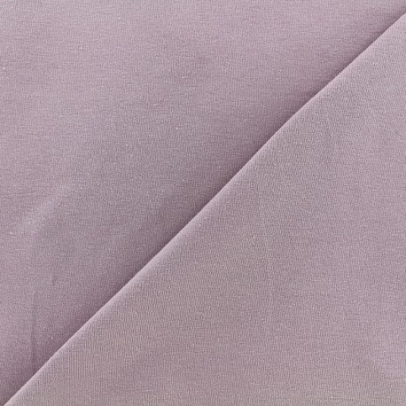 Jersey Fabric - lilac x 10cm