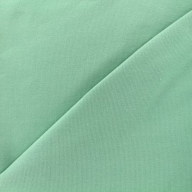 Tissu sweat léger Uni - vert d'eau x 10cm