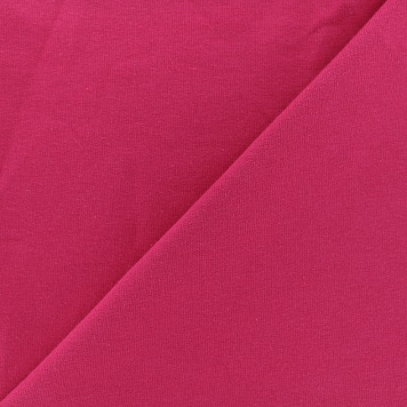 Light jogging Jersey Fabric - raspberry x 10cm