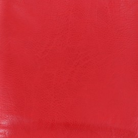Imitation leather frappé vintage - red x 10cm