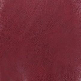 Simili cuir frappé vintage - bordeaux x 10cm