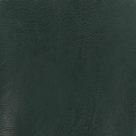 Imitation leather craquelé frappé - Bottle green x 10cm