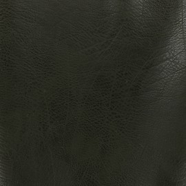 Simili cuir frappé vintage - kaki x 10cm