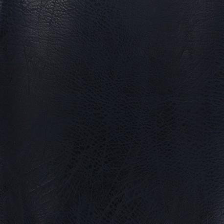 Imitation leather frappé vintage - night blue x 10cm