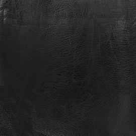 Simili cuir frappé vintage - noir x 10cm