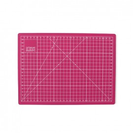Cutting mat - fuchsia