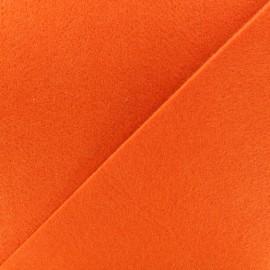 Thick Felt Fabric - orange x 10cm