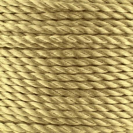Metallic twisted Cord 2mm - golden x 1m