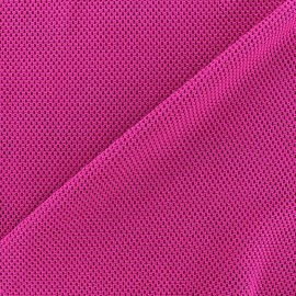 Polyester fishnet fabric - violine