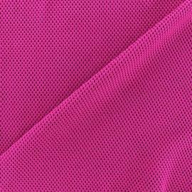 ♥ Coupon tissu 30 cm X 160 cm ♥ Tissu jersey résille - violine