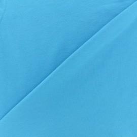 Tissu jersey uni - azur x 10cm