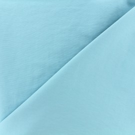 Smooth Water-repellent Softshell fabric - azure x 10cm