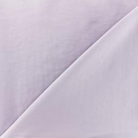 Tissu déperlant souple - lilas x 10cm