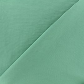 Smooth Water-repellent Softshell fabric - sage green x 10cm