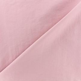 Tissu déperlant souple - rose x 10cm