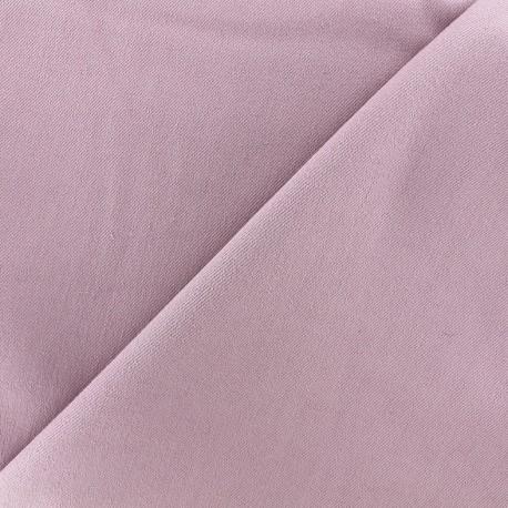 Tissu jeans 400gr/ml - parme x 10cm