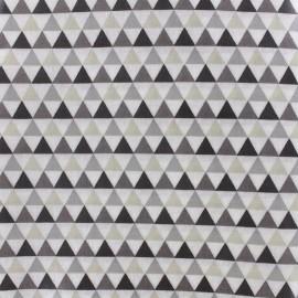 Tissu enduit coton Isocèle - naturel x 10cm