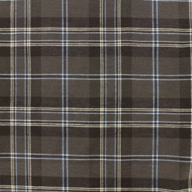 Tissu coton Edgar - marron x 10cm