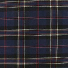 Tissu coton Edgar - marine x 10cm