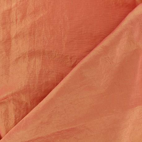 Taffeta Fabric - apricot x 10cm
