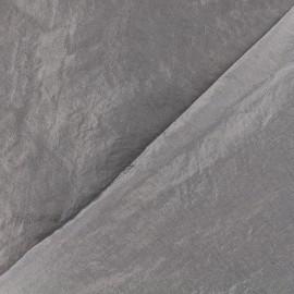 Tissu taffetas uni - gris rosé x 10cm