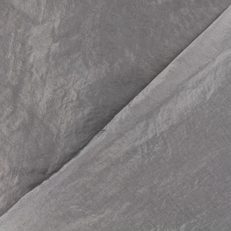 Taffeta Fabric - grey pink x 10cm