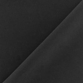 Crepe fabric - anthracite x 10cm