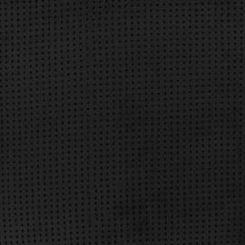 Tissu Suédine Ajourée Milky way - noir x 10cm