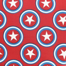 Tissu déperlant nano-tex Superstar - rouge x 10cm