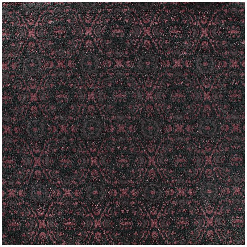 tissu jacquard damass rococo carmin x 10cm ma petite. Black Bedroom Furniture Sets. Home Design Ideas