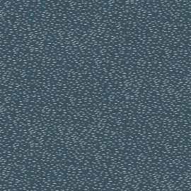 Tissu coton Makower UK Heartwood Dash - dark blue x 10cm