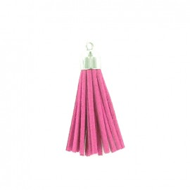 Buckskin Pompom - old pink