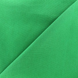 Cotton Canvas Fabric CANEVAS - bright green x 10cm