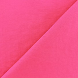 Smooth Water-repellent Softshell fabric - fuchsia x 10cm