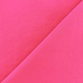 Tissu déperlant souple - fuchsia x 10cm